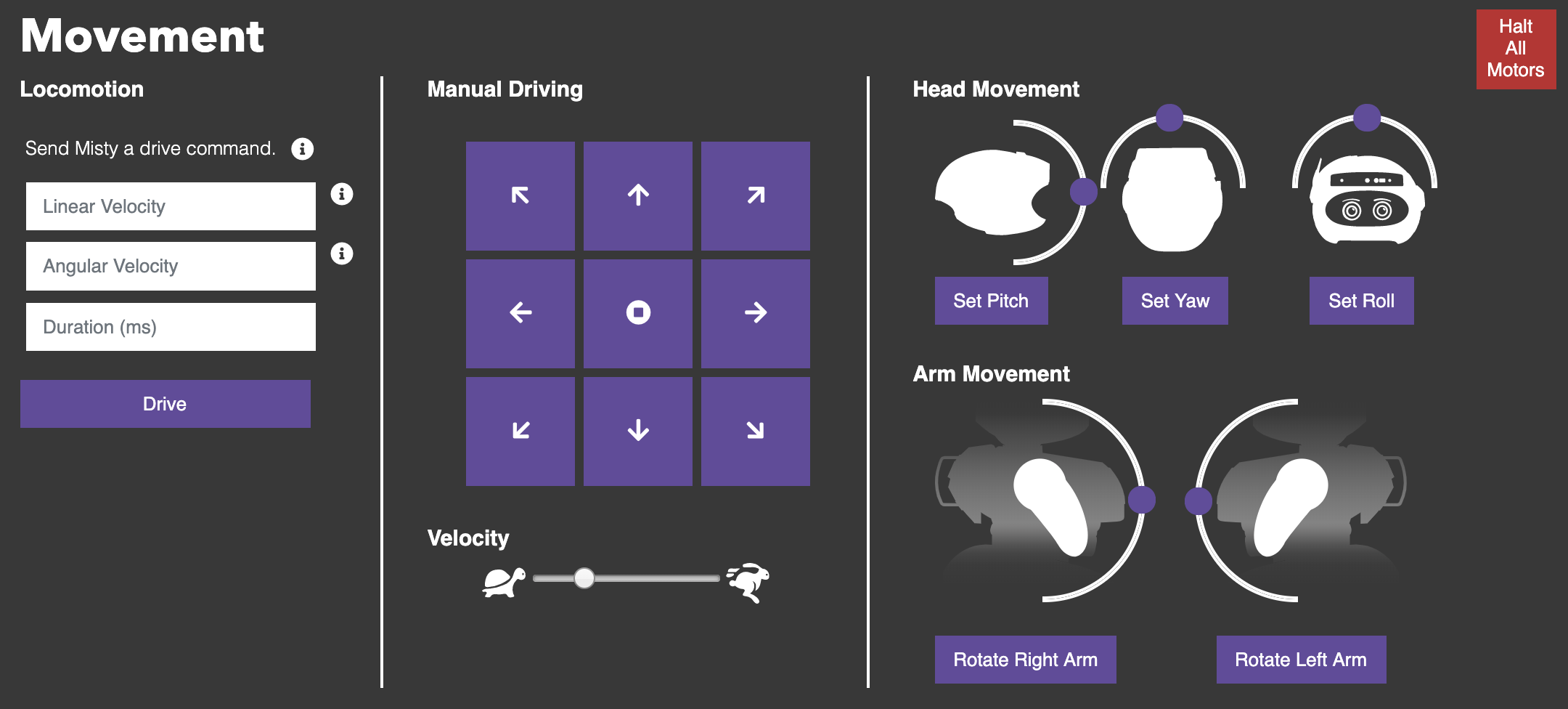 Movement controls