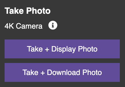 Take Picture controls